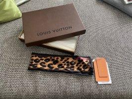 Louis Vuitton Panno di seta nero-marrone