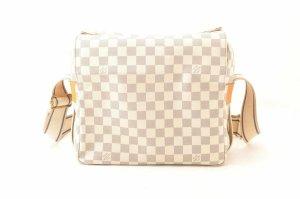 Louis Vuitton Sac porté épaule beige fibre textile