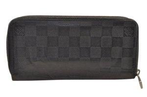Louis Vuitton Damier Infini Zippy Wallet Vertical Onyx
