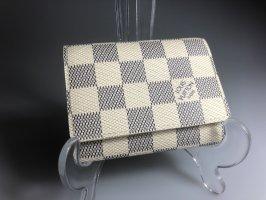 Louis Vuitton Tarjetero crema-gris claro
