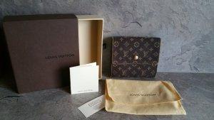 Louis Vuitton Portefeuille gris jean