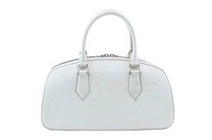 Louis Vuitton Sac à main blanc cuir