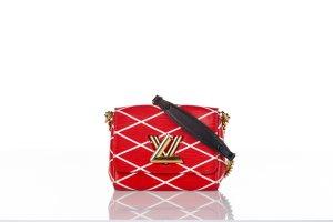 Louis Vuitton Shoulder Bag red leather