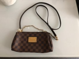 Louis Vuitton Eva Clutch Tasche Braun Bandouliere Crossbody Top