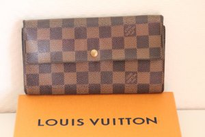 Louis Vuitton Geldbörse Damier, Portemonaie, braun