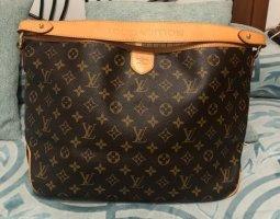 Louis Vuitton Borsa a tracolla marrone-marrone scuro