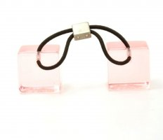 Louis Vuitton Nastro per capelli rosa chiaro