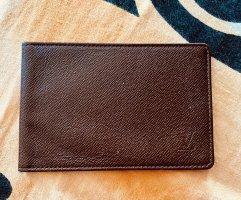 Louis Vuitton Cartera marrón-marrón oscuro Cuero