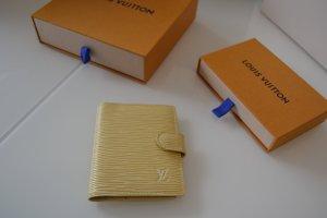 Louis Vuitton Custodie portacarte crema-giallo chiaro Pelle