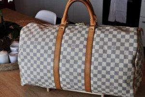 Louis Vuitton Weekendtas veelkleurig Leer