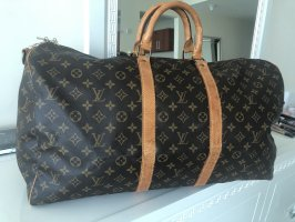 LOUIS VUITTON KEEPALL 55 Travel Bag Reisetasche MONOGRAM CANVAS