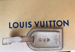 Louis Vuitton Weekender Bag multicolored leather