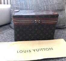 Louis Vuitton Trousse à maquillage brun foncé