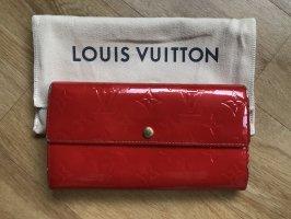 Louis Vuitton Portefeuille rouge