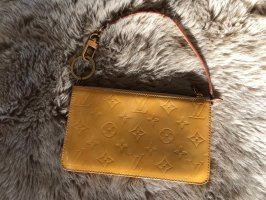 Louis Vuitton Enveloptas geel Leer