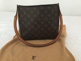 Louis Vuitton Sac Baril bronze tissu mixte