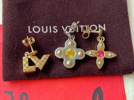 Louis Vuitton Love Letters Timeless Drop Ohrringe Set - Silber / Gold
