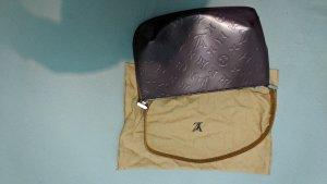 Louis Vuitton Handtas karmijn Leer