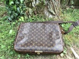 Louis Vuitton Laptoptas bruin