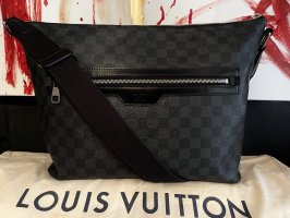 Louis Vuitton Mick MM Messenger Umhängetasche Damier Graphite
