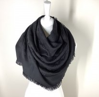 Louis Vuitton Monigram Shawl in Black