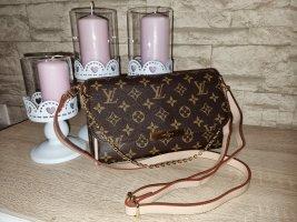 Louis Vuitton Sac porté épaule bronze-brun