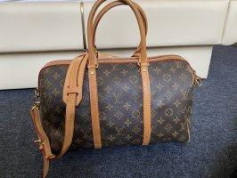 Louis Vuitton Borsa da weekend bronzo-cognac