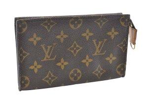 Louis Vuitton Bolso de mano negro fibra textil