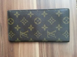 Louis Vuitton Wallet brown cotton