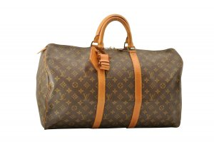 Louis Vuitton Monogram Keepall 50 Old