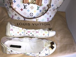 Louis Vuitton Ballerines pliables multicolore cuir