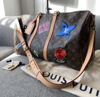 Louis Vuitton Monogram Patches Keepall