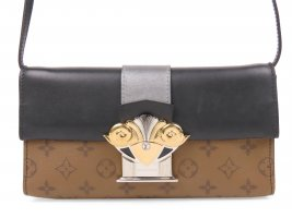 Louis Vuitton Monogram Reverse Pochette Column