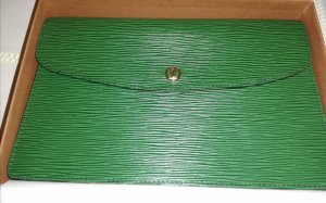 Louis Vuitton Pochette green