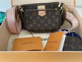 Louis Vuitton Torba na ramię brązowy-różowy