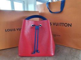 Louis Vuitton Handbag red leather