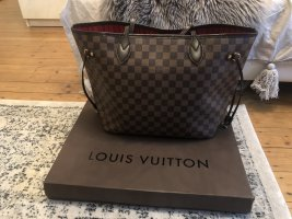 Louis Vuitton Neverfull MM Damier Ebene Canvas Shopper Tasche