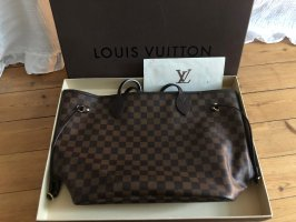 Louis Vuitton Neverfull MM Damier Ebene Shopper