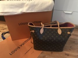 Louis Vuitton Neverfull mm in Canvas Monogram Innenfarbe Pivoine