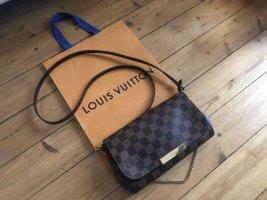 Louis Vuitton PM Favorite Damier Ebene Crossbody Bandouliere Top