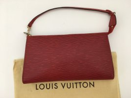 Louis Vuitton Sac de soirée rouge cuir
