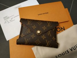 Louis Vuitton Enveloptas donkerbruin-baksteenrood