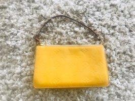 Louis Vuitton Mini sac jaune cuir