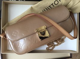 Louis Vuitton Pochette nude-gold-colored leather