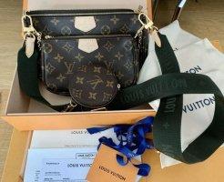 Louis Vuitton Bolso tipo pochette marrón Cuero