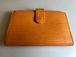 Louis Vuitton Portemonnee donker oranje