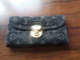Louis Vuitton Wallet black linen