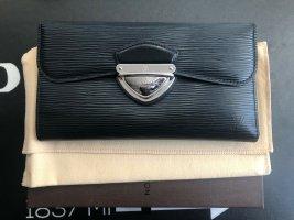 Louis Vuitton Portemonnee zwart Leer