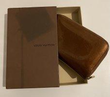 Louis Vuitton Portemonnaie Zippy Vernis Bronze