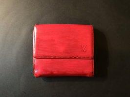 Louis Vuitton Portmonee - Rot + LV Verpackung